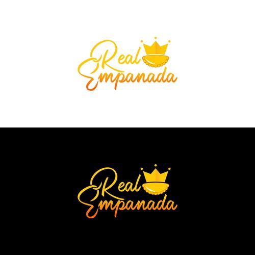 Real Empanada logo design
