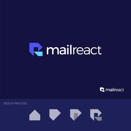 Geometric logo for MailReact