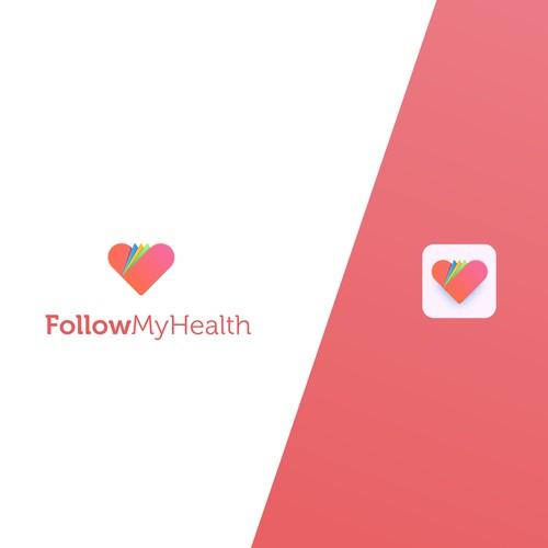 Logo design for a 10 Million User Health Care app