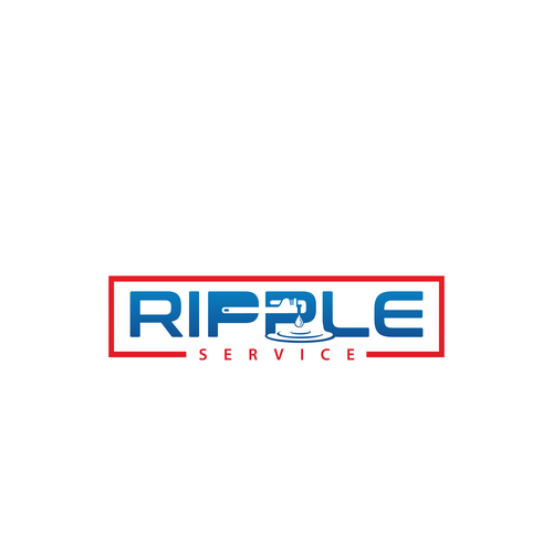 Creative and eye catching logo for Ripple Service