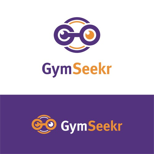 Create a modern, hip logo and brand identity for an online fitness company
