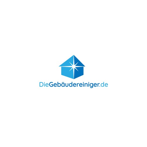 Logo für Gebäudereinigung-Firma