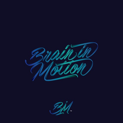 concept logo for brain in motion