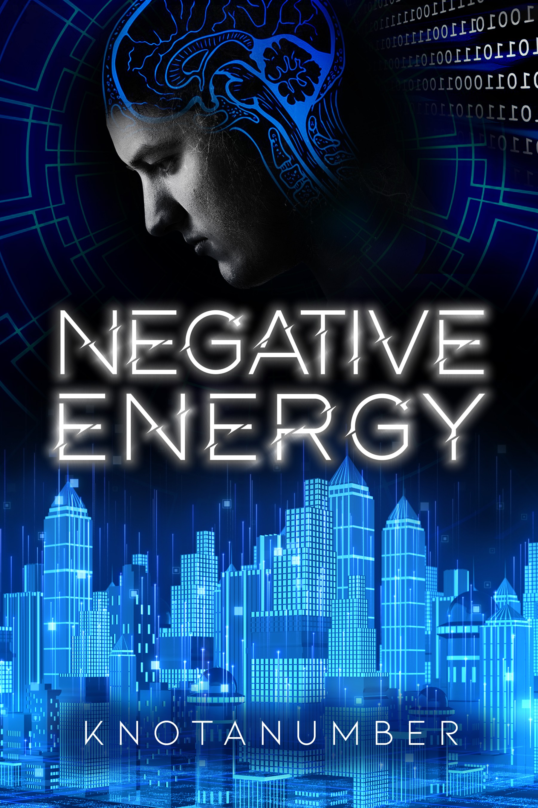 Sci-fi meets psych-thriller book cover