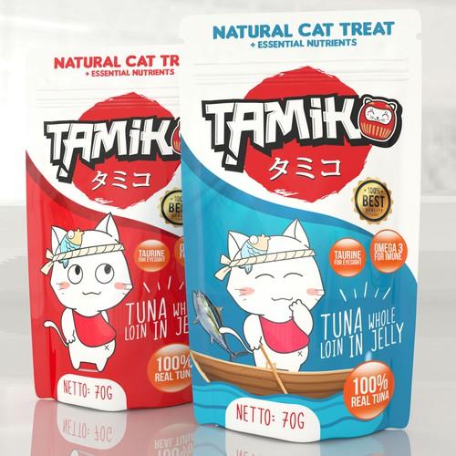 Tamiko Wet Cat food