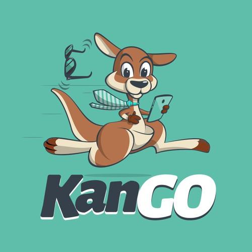 Fun logo for KanGo