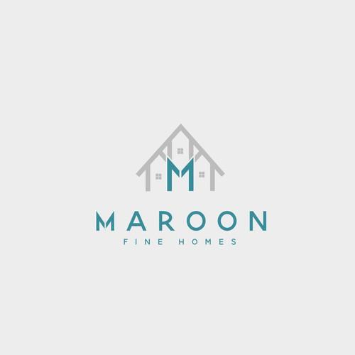 Maroon Fine Homes Logo