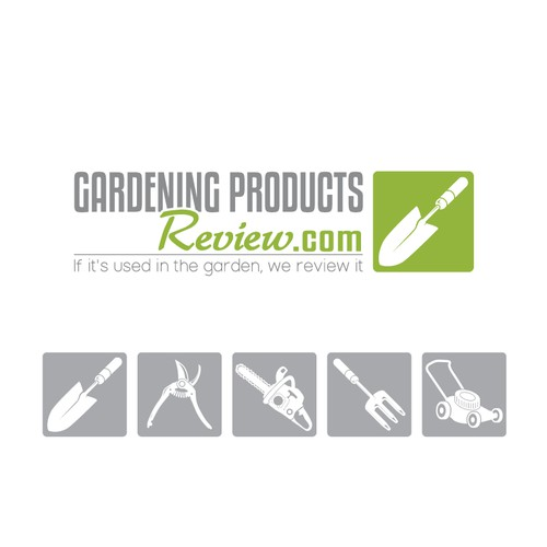 """Create new logo for """"Consumer Reports""""-style gardening products website"""