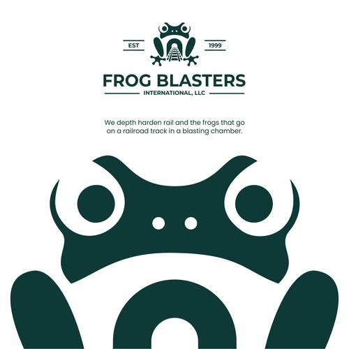 Frog and railway