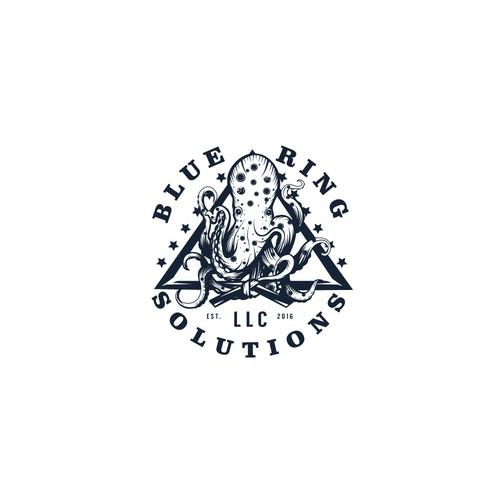 """Logo design for """"Blue Ring"""""""