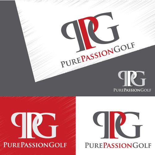 PurePassionGolf or PPG (letters) with a new logo