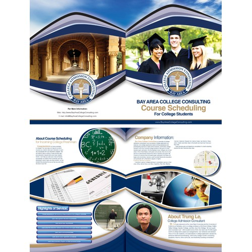 New brochure design wanted for Bay Area College Consulting