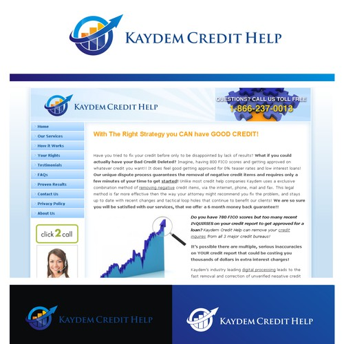 Kaydem needs your help with a great logo!