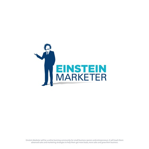 Logo for a Marketing Blog and Online Couses site