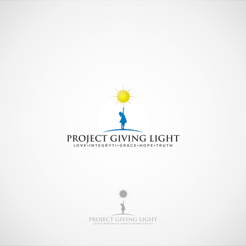 logo project giving light