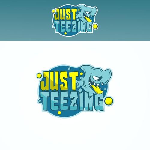 Funny Shark for Logo Apparel