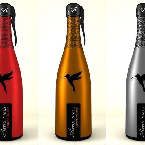 champagne rum bottles