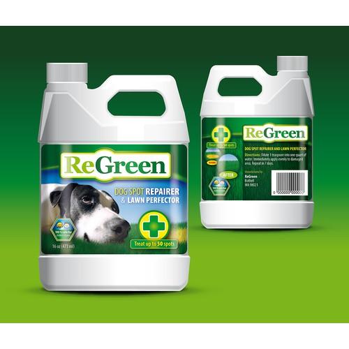 ReGreen - Dog Spot Repairer