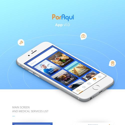 Services finder app