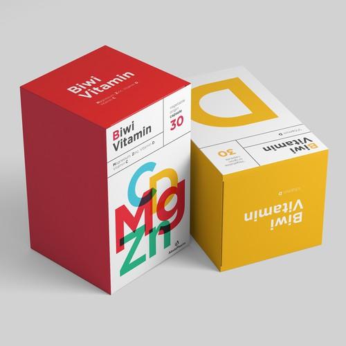 Premium Vitamin Supplement Packaging Line
