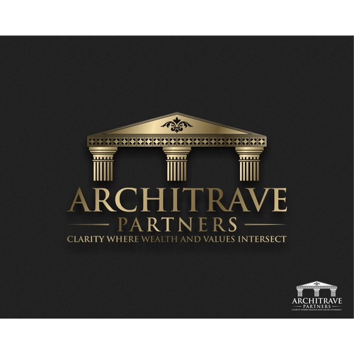 """Creative """"Architrave"""" Theme Needed for Logo!"""