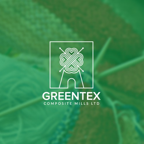 Creative logo for a yarn mill