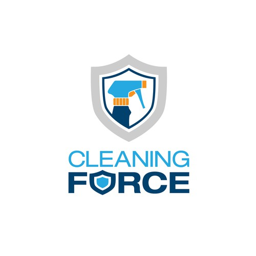 Abstract, tech-like logo for my cleaning service.