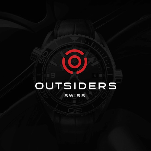 Design a modern, stylish logo for a new Swiss watch company.