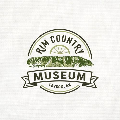 Classic Logo for Rim Country Museum