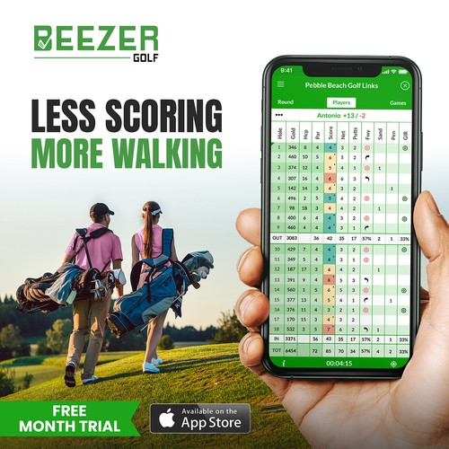 Less Scoring, More Walking