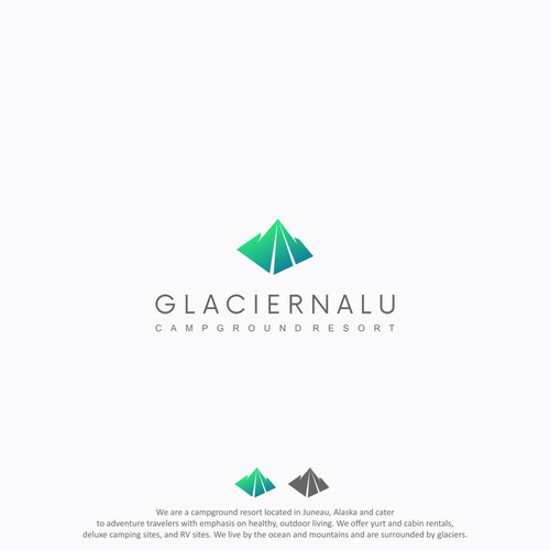 Logo Design for Glacier Nalu