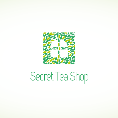 Create the next logo for Secret Tea Shop