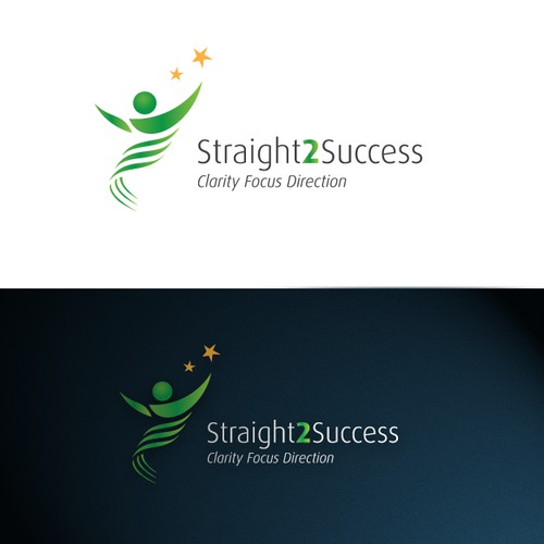 Logo design for Straight 2 Success
