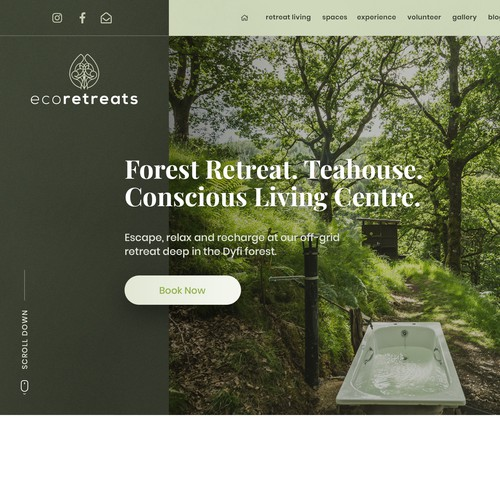 Eco Retreat Homepage