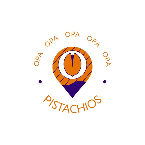Logo for the pistachio company