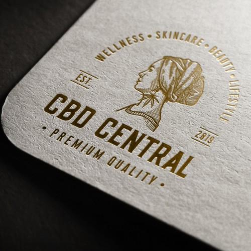 Logo design for CBD Central.