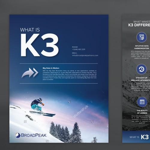 Multi page Brochure Design for K3