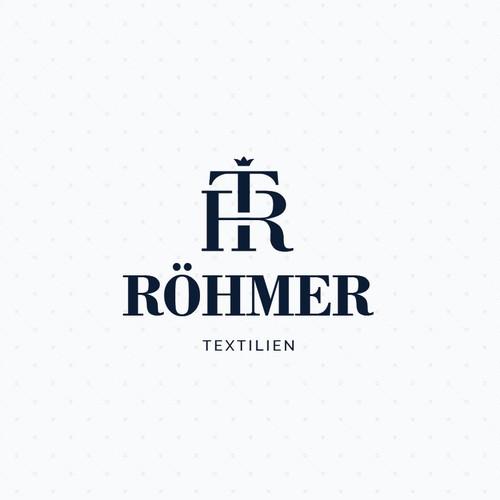 Logo concept for international textile brand