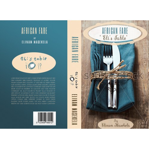 Food lover? Create a winning book cover for my up&coming cook book featuring African infused dishes!
