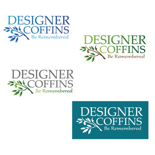Logo design for Designer Coffins