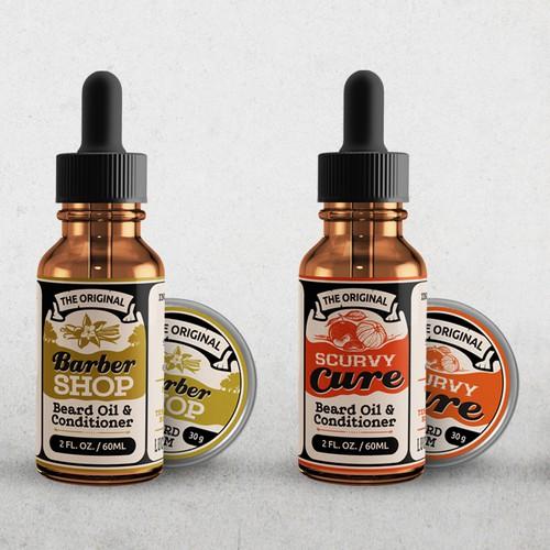Label designs for LuckyAnchor.com