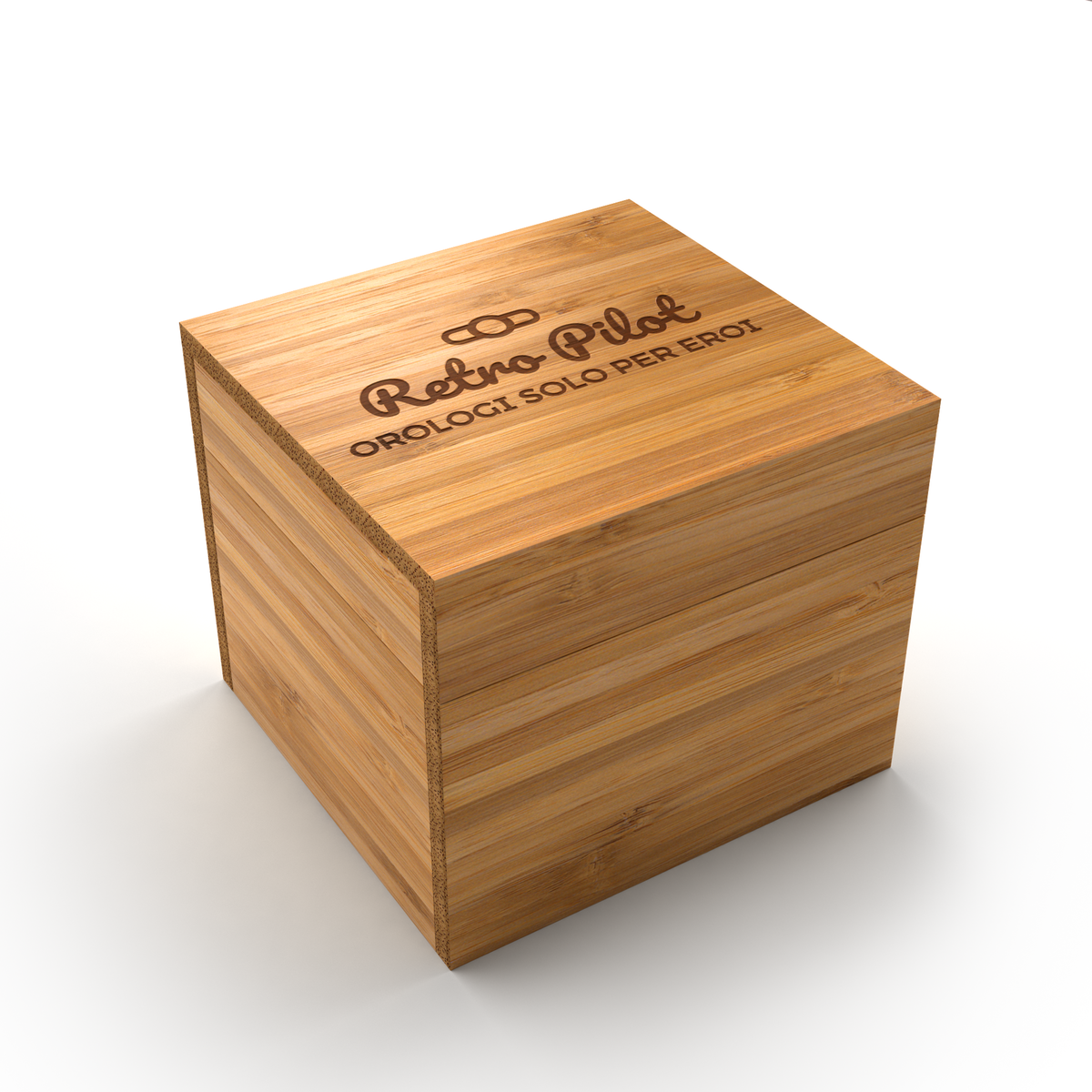 Wooden Watch Box for Bussora