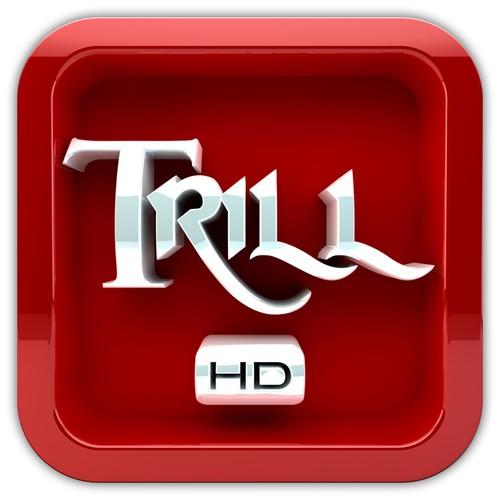 App Icon Design for TrillHD iOS App