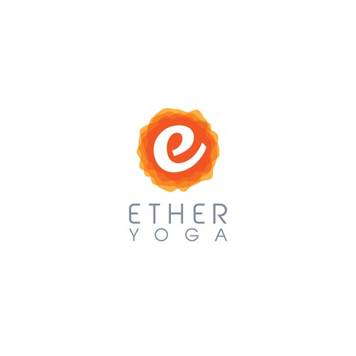 Unique logo for a modern community and content network for the yoga population