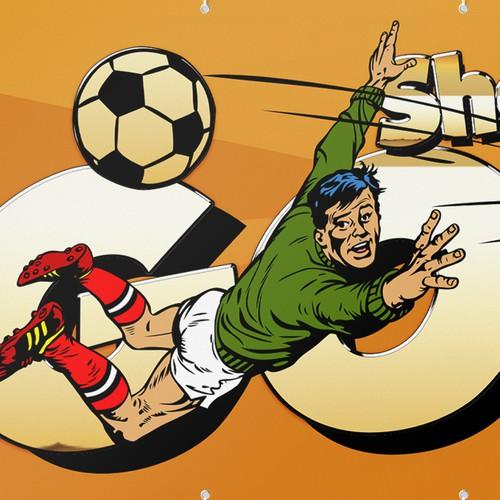 Banner for a Kid's Soccer Team