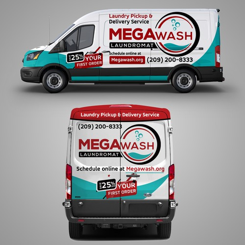 car, truck or van wrap