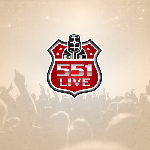 Logo Entry for 551 Live