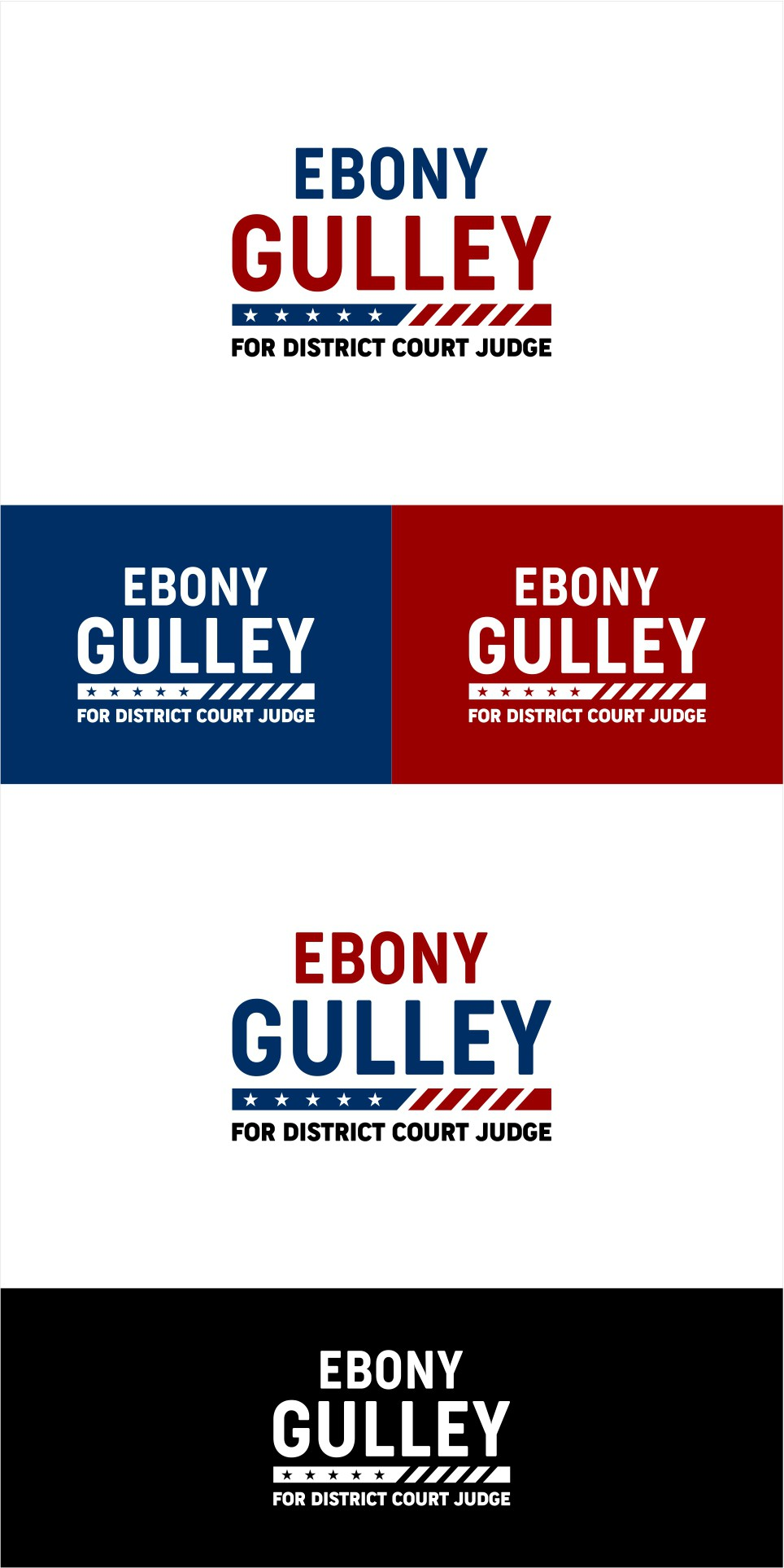 Campaign Logo for a Young and New Political Candidate