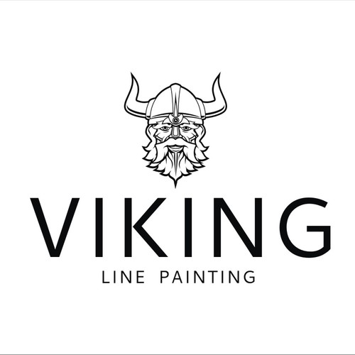 Create a striking design for Viking Line Painting!