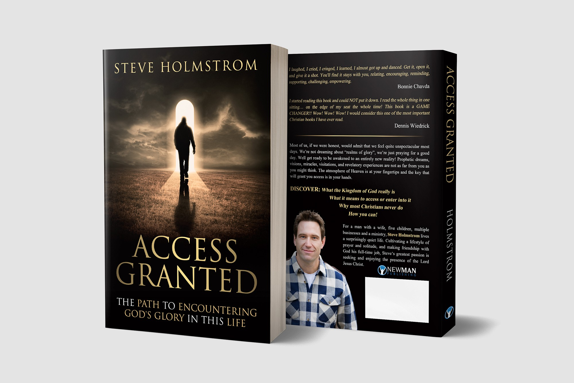"""""""Access Granted"""" book cover."""
